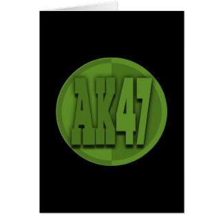 AK47 CARD