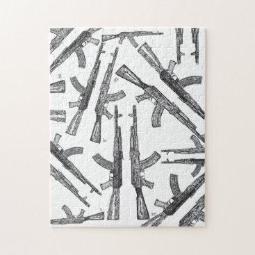 AK47 Firearm puzzle