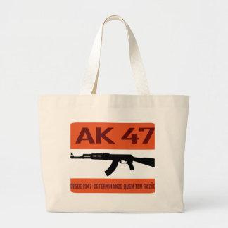 ak47 large tote bag