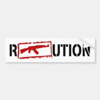 Ak47 REVOLUTION Bumper Sticker