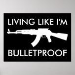 ak47: vida como soy a prueba de balas impresiones