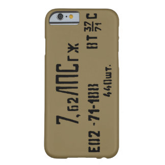 AK-47 7.62x39 Ammo Spam Can Barely There iPhone 6 Case