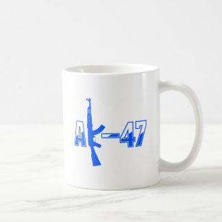 AK-47 AKM Assault Rifle Logo Blue.png Mug