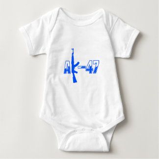 AK-47 AKM Assault Rifle Logo Blue.png Shirt