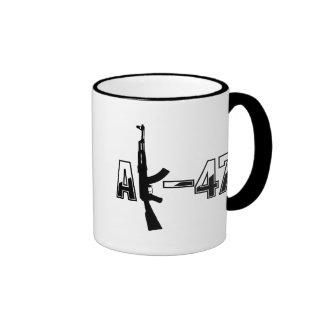 AK-47 AKM Assault Rifle Logo Coffee Mug