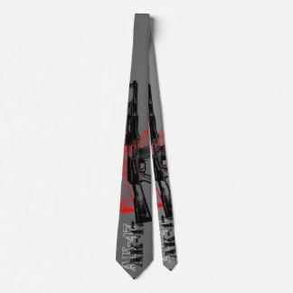 AK 47 Art Neck Tie