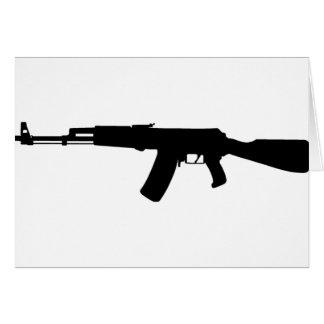 AK-47 assault rifle Kalashnikov Card