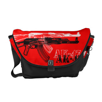 AK 47 BOLSA MESSENGER