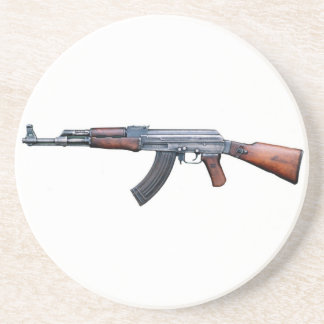 AK-47 BEVERAGE COASTER