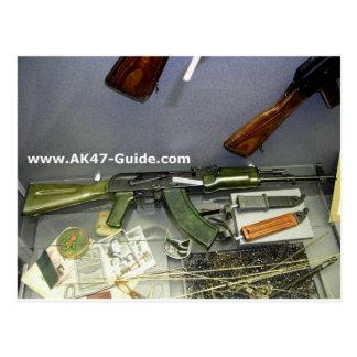 AK-47 green edition Postcard