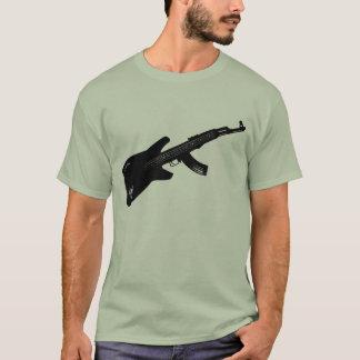 AK 47 Guitar T-Shirt