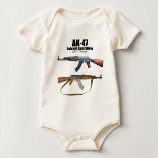 AK-47 History Avtomat Kalashnikova Assault Rifles Baby Bodysuit