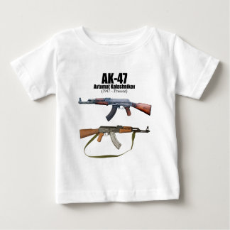 AK-47 History Avtomat Kalashnikova Assault Rifles Baby T-Shirt