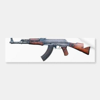 AK-47 History Avtomat Kalashnikova Assault Rifles Bumper Sticker