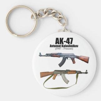 AK-47 History Avtomat Kalashnikova Assault Rifles  Keychain
