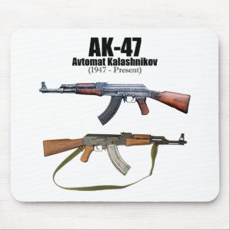 AK-47 History Avtomat Kalashnikova Assault Rifles Mouse Pad