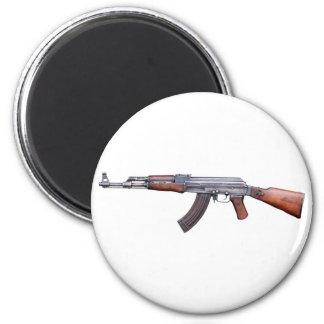 AK-47 IMÁN REDONDO 5 CM