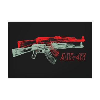 AK 47 IMPRESIÓN EN LONA