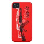 AK 47 iPhone 4 CÁRCASA