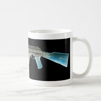 AK-47 Negative Blue Mug