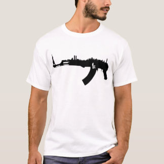 AK 47 NY Skyline T-Shirt