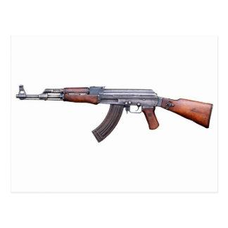 AK-47 POSTCARD