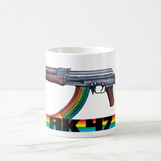 AK-47 Retro Tribute Classic White Coffee Mug