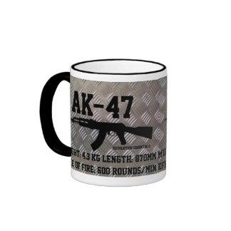 AK-47 RINGER COFFEE MUG