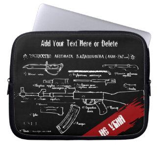 AK-47 Russian Assault Rifle Computer Sleeve