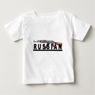 AK-47 Russian Propaganda Vintage Style T-shirt.png Baby T-Shirt