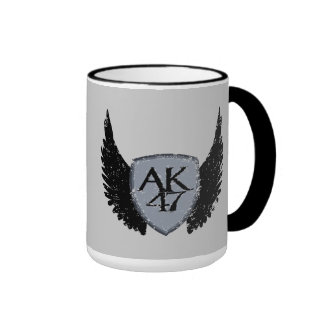 AK 47 Shield and Wings Mug