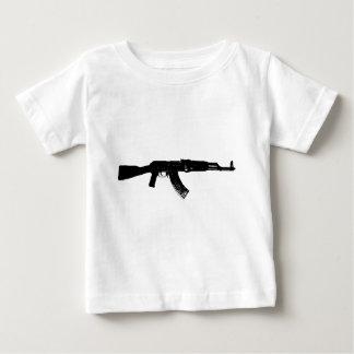 AK-47 Silhouette Baby T-Shirt