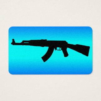 AK-47 Silhouette Business Card