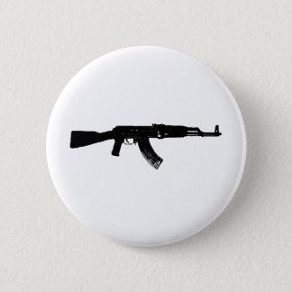 AK-47 Silhouette Button