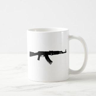 AK-47 Silhouette Coffee Mug