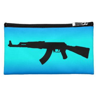 AK-47 Silhouette Makeup Bag