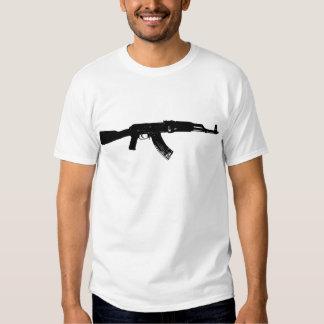 AK-47 Silhouette T Shirt