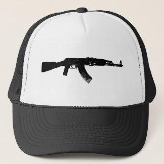 AK-47 Silhouette Trucker Hat