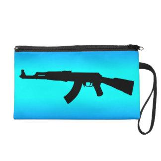 AK-47 Silhouette Wristlet
