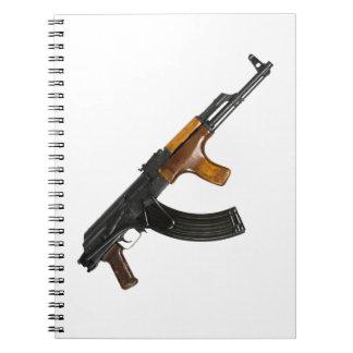 AK-47 SPIRAL NOTEBOOK