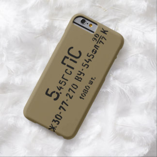 AK-74 5.45X39 Spam Can Ammo Print Barely There iPhone 6 Case