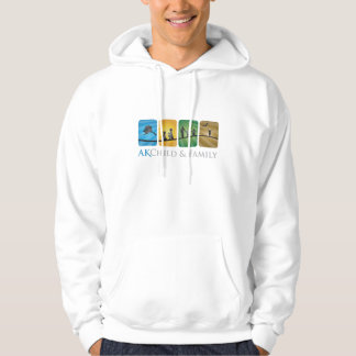AK Child & Family Adult Pullover Hoodie (White)