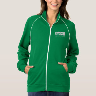 AK Child & Family Women's Track Jacket (Green)