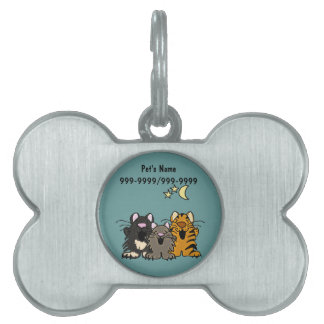 AK- Funny Singing Cats Pet Tags or Keychains