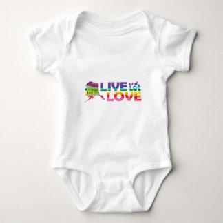 AK Live Let Love Baby Bodysuit