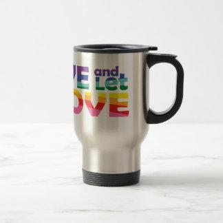AK Live Let Love Travel Mug