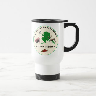 AK Region Patch and Bear Travel Coffee Cup
