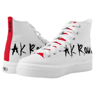 AK Rowdy High Top Shoes Printed Shoes