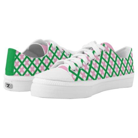 AKA Neoplaid Low-Top Sneakers