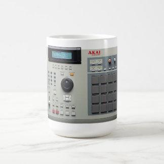 Akai MPC 2000 Drum Machine Classic White Coffee Mug